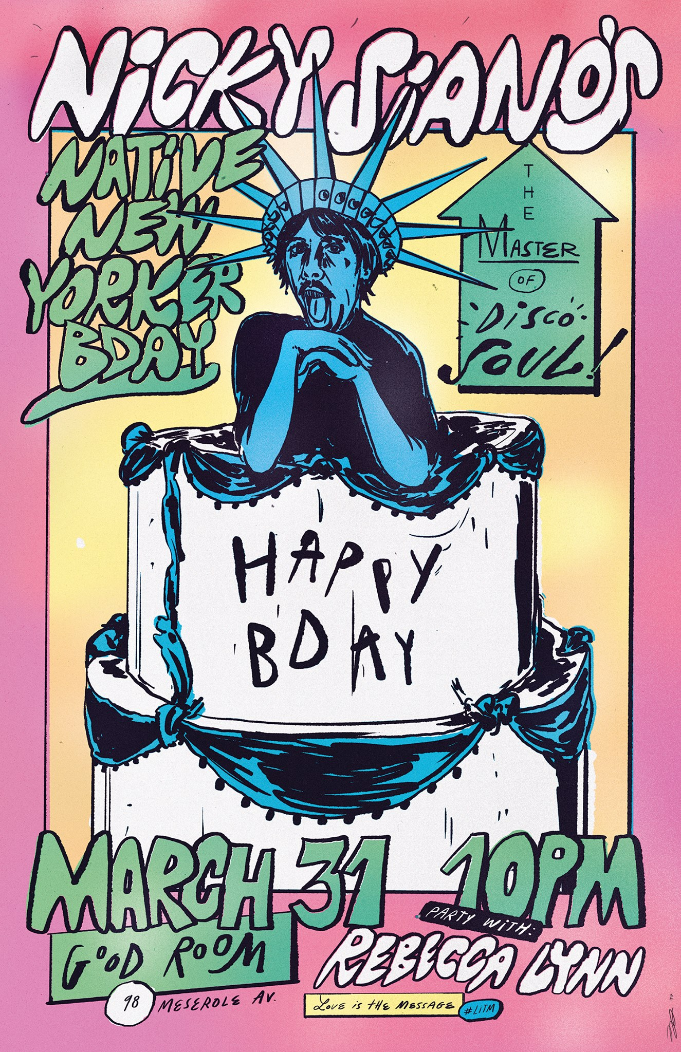 Nicky Siano's Native New Yorker B'day