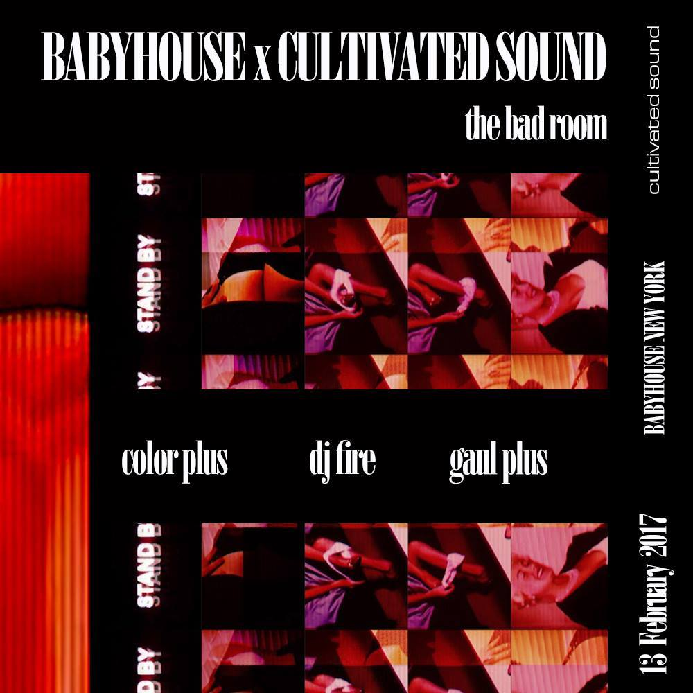Baby House New York x Cultivated Sound AW17 After-Party