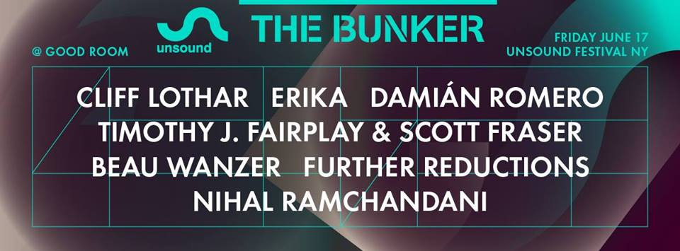 The Bunker x Unsound